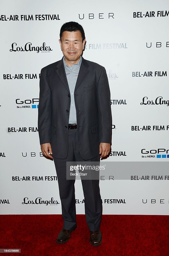 Actor Jesse Wang arrives at the 2013 Bel-Air Film Festival Red Carpet Gala at Hammer Museum on October 10, 2013 in Westwood, California.