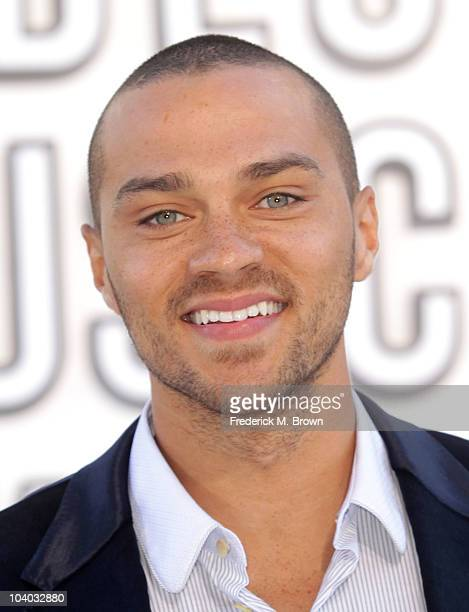 Actor Jesse Williams arrives at the 2010 MTV Video Music Awards at NOKIA Theatre LA LIVE on September 12 2010 in Los Angeles California
