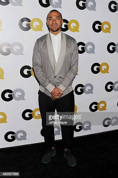 Actor Jesse Williams arrives at the 2013 GQ Men Of The Year Party at The Ebell of Los Angeles on November 12 2013 in Los Angeles California