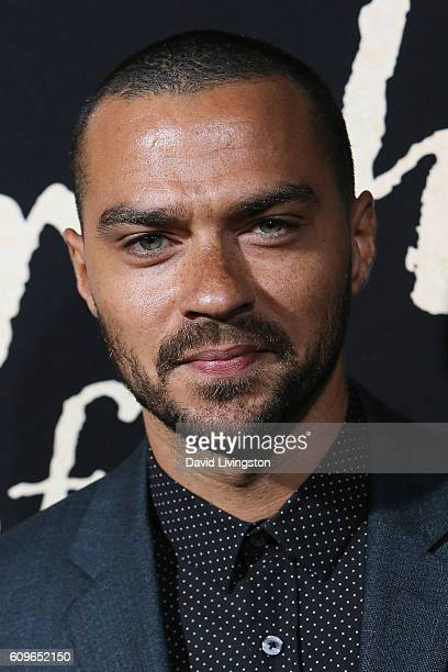 Actor Jesse Williams arrives at the Premiere of Fox Searchlight Pictures' 'The Birth Of A Nation' at the ArcLight Cinemas Cinerama Dome on September...