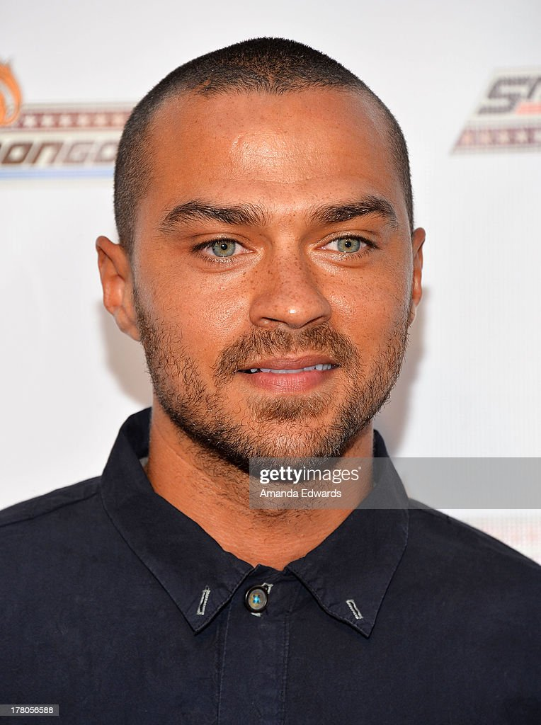 Actor <a gi-track='captionPersonalityLinkClicked' href=/galleries/search?phrase=Jesse+Williams+-+Actor&family=editorial&specificpeople=7189838 ng-click='$event.stopPropagation()'>Jesse Williams</a> arrives at the premiere of 'Snake & Mongoo$e' at the Egyptian Theatre on August 26, 2013 in Hollywood, California.
