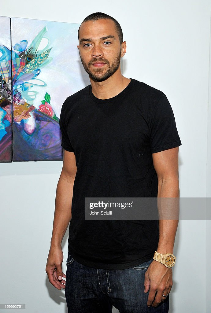Actor <a gi-track='captionPersonalityLinkClicked' href=/galleries/search?phrase=Jesse+Williams+-+Actor&family=editorial&specificpeople=7189838 ng-click='$event.stopPropagation()'>Jesse Williams</a> attends Art Los Angeles Contemporary opening night at Barker Hangar on January 24, 2013 in Santa Monica, California.