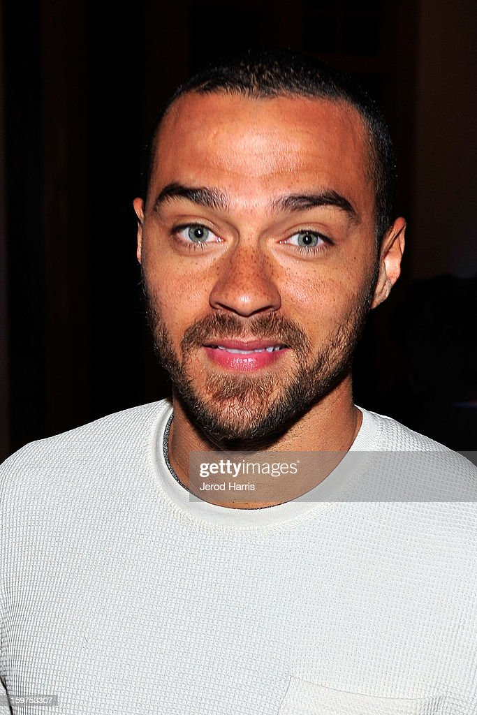 Actor Jesse Williams attends drink and dine with Dell and #Inspire 100 Honorees at Sundance Film Festival on January 19, 2013 in Park City, Utah.