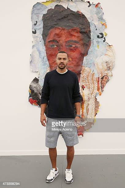 Actor Jesse Williams attends Frieze New York 2015 on May 14 2015 in New York City