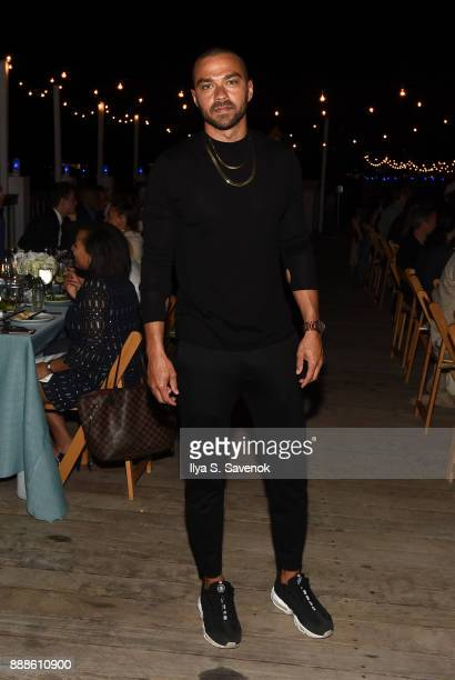 Actor Jesse Williams attends Kickstarter Dinner In Honor Of Art Basel And Artist Glenn Kaino Olympian Tommie Smith At The Standard Spa Miami at The...