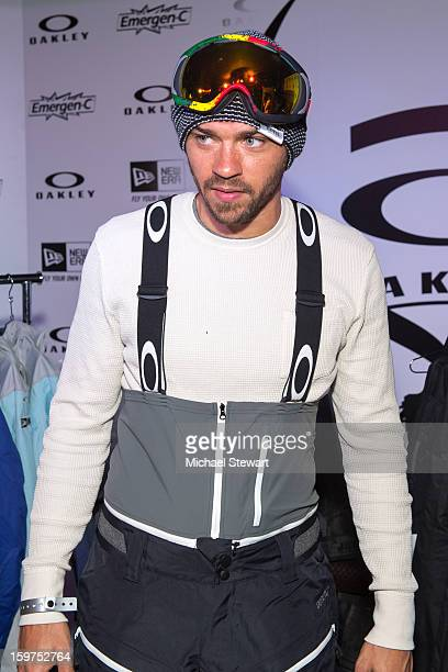 Actor Jesse Williams attends Oakley Learn To Ride In Collaboration With New Era on January 19 2013 in Park City Utah