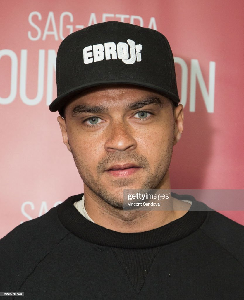 Actor Jesse Williams attends SAG-AFTRA Foundation's Conversations with 'Grey's Anatomy' at SAG-AFTRA Foundation Screening Room on March 13, 2017 in Los Angeles, California.
