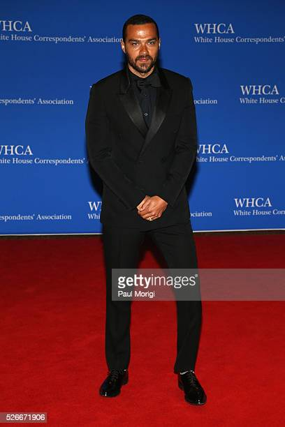 Actor Jesse Williams attends the 102nd White House Correspondents' Association Dinner on April 30 2016 in Washington DC