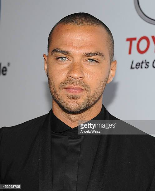 Actor Jesse Williams attends the 2014 Ebony Power 100 List event at Avalon on November 19 2014 in Hollywood California