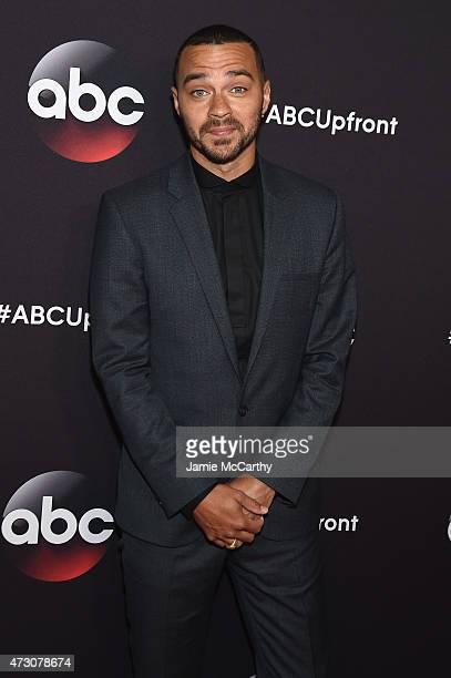 Actor Jesse Williams attends the 2015 ABC Upfront at Avery Fisher Hall Lincoln Center on May 12 2015 in New York City