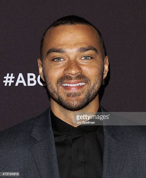 Actor Jesse Williams attends the 2015 ABC upfront presentation at Avery Fisher Hall at Lincoln Center for the Performing Arts on May 12 2015 in New...