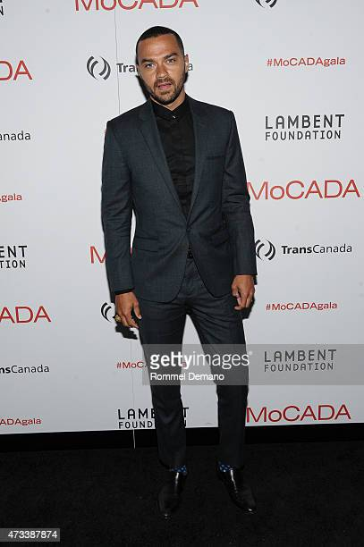 Actor Jesse Williams attends The 2015 MoCADA Masquerade Ball at Brooklyn Academy of Music on May 14 2015 in New York City