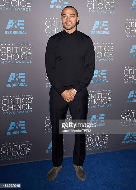 Actor Jesse Williams attends the 20th annual Critics' Choice Movie Awards at the Hollywood Palladium on January 15 2015 in Los Angeles California