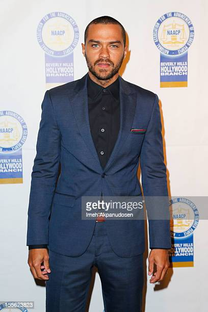 Actor Jesse Williams attends the 22nd Annual NAACP Theatre Awards at Directors Guild Of America on November 5 2012 in Los Angeles California