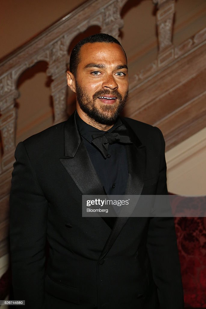 Actor Jesse Williams attends the Bloomberg Vanity Fair White House Correspondents' Association (WHCA) dinner afterparty in Washington, D.C., U.S., on Saturday, April 30, 2016. The 102nd WHCA raises money for scholarships and honors the recipients of the organization's journalism awards. Photographer: Andrew Harrer/Bloomberg via Getty Images