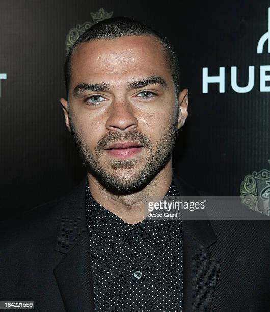 Actor Jesse Williams attends the celebration of Hublot's new brand ambassador Kobe Bryant on March 20 2013 in Los Angeles California