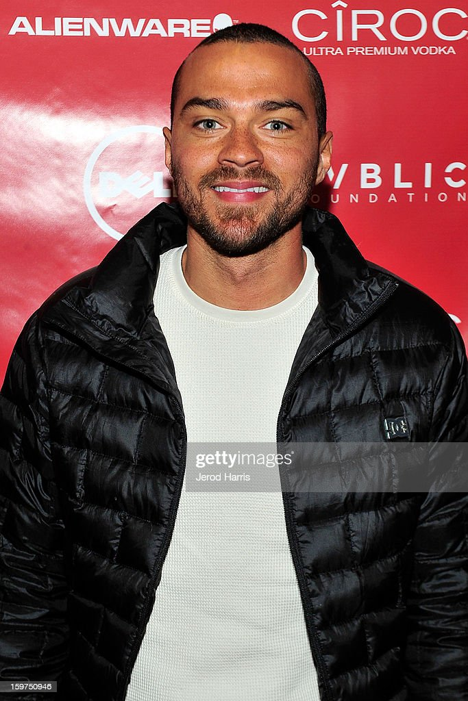 Actor <a gi-track='captionPersonalityLinkClicked' href=/galleries/search?phrase=Jesse+Williams+-+Actor&family=editorial&specificpeople=7189838 ng-click='$event.stopPropagation()'>Jesse Williams</a> attends the Google + Hangout at the DELL #Inspire 100 Lounge on January 19, 2013 in Park City, Utah.