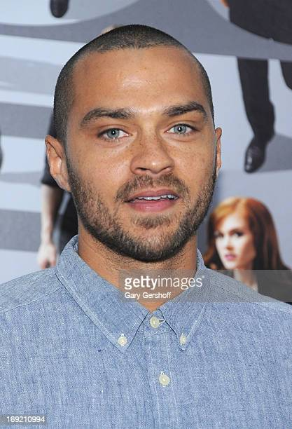 Actor Jesse Williams attends the 'Now You See Me' premiere at AMC Lincoln Square Theater on May 21 2013 in New York City