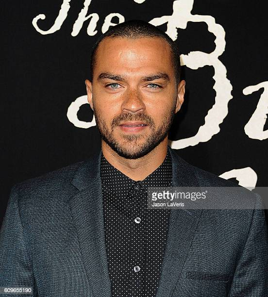 Actor Jesse Williams attends the premiere of 'The Birth of a Nation' at ArcLight Cinemas Cinerama Dome on September 21 2016 in Hollywood California