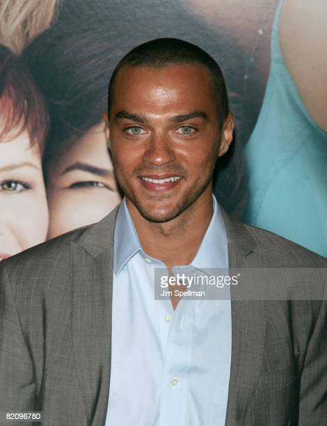 Actor Jesse Williams attends the premiere of 'The Sisterhood of the Traveling Pants 2' at the Ziegfeld Theatre on July 28 2008 in New York City