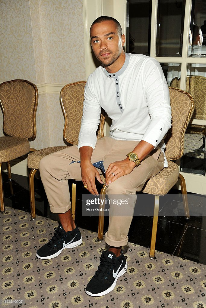 Actor Jesse Williams attends the press conference for The Weinstein Company's LEE DANIELS' THE BUTLER at Waldorf Astoria Hotel on August 5, 2013 in New York City.