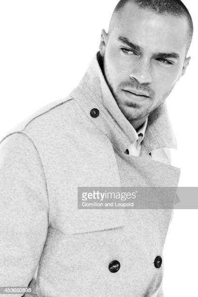 Actor Jesse Williams is photographed for Self Assignment on September 1 2011 in Los Angeles California