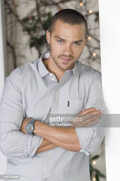 Actor Jesse Williams poses for a portrait session on October 1 Los Angeles CA Published Image