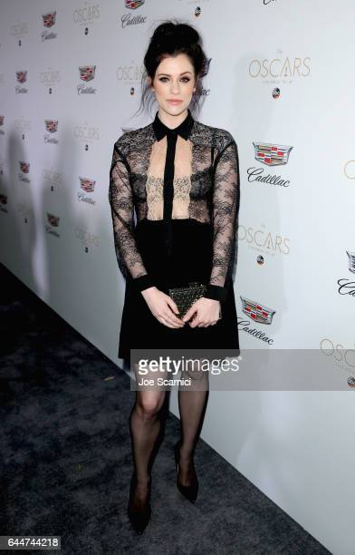 Actor Jessica De Gouw attends the Cadillac Oscar Week Celebration at Chateau Marmont on February 23 2017 in Los Angeles California