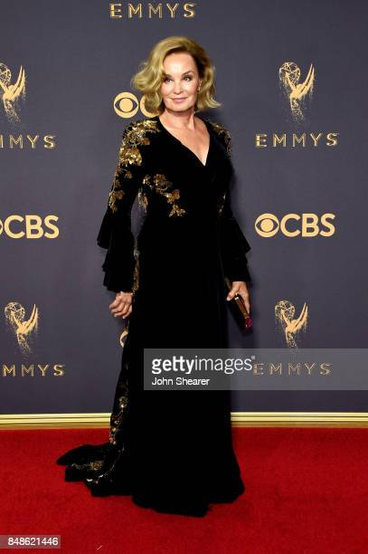 Actor Jessica Lange attends the 69th Annual Primetime Emmy Awards at Microsoft Theater on September 17 2017 in Los Angeles California