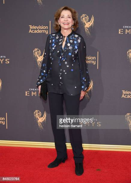 Actor Jessica Walter attends day 1 of the 2017 Creative Arts Emmy Awards at Microsoft Theater on September 9 2017 in Los Angeles California