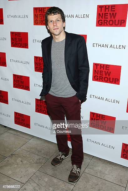 Actor Jessie Eisenberg attends 'The Spoils' opening night party at Qi Bangkok Eatery on June 2 2015 in New York City