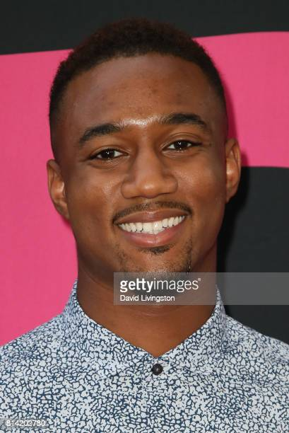 Actor Jessie T Usher attends the premiere of Universal Pictures' 'Girls Trip' at Regal LA Live Stadium 14 on July 13 2017 in Los Angeles California