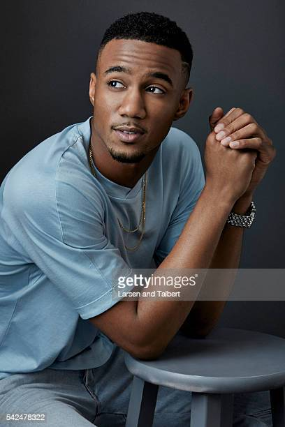 Actor Jessie T Usher is photographed for Entertainment Weekly Magazine at the ATX Television Fesitval on June 10 2016 in Austin Texas