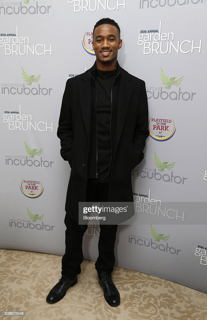 Actor Jessie Usher attends the 23rd Annual White House Correspondents' Garden Brunch in Washington, D.C., U.S., on Saturday, April 30, 2016. The event will raise awareness for Halcyon Incubator, an organization that supports early stage social entrepreneurs 'seeking to change the world' through an immersive 18-month fellowship program. Photographer: Andrew Harrer/Bloomberg via Getty Images