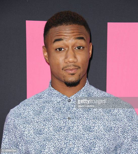 Actor Jessie Usher attends the premiere of 'Girls Trip' at Regal LA Live Stadium 14 on July 13 2017 in Los Angeles California