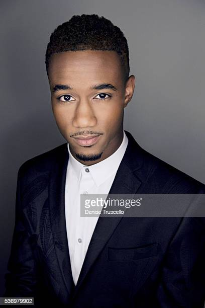 Actor Jessie Usher is photographed at CinemaCon 2015 on April 12 2016 in Las Vegas Nevada