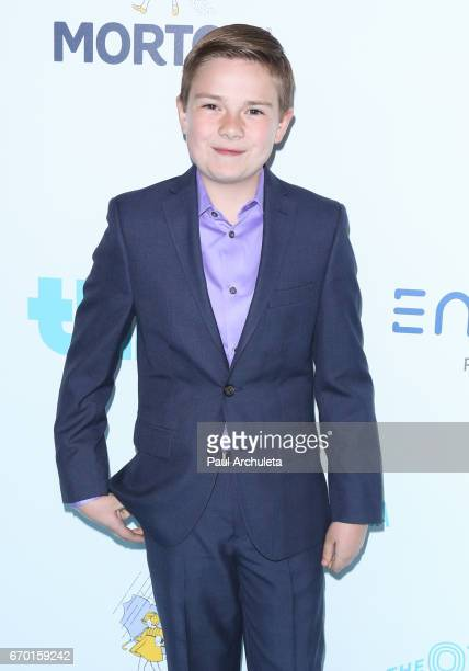Actor Jet Jurgensmeyer attends the 8th annual Thirst Gala at The Beverly Hilton Hotel on April 18 2017 in Beverly Hills California