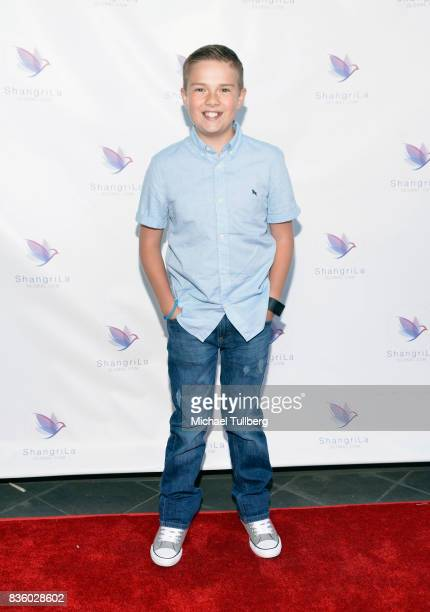 Actor Jet Jurgensmeyer attends the ShangriLa Global Launch and PopUp store on August 20 2017 in Beverly Hills California