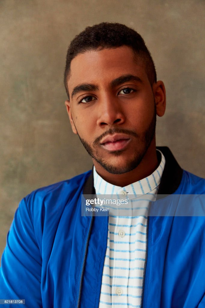 Actor Jharrel Jerome from AT&T AUDIENCE's 'Mr. Mercedes' poses for a portrait during Comic-Con 2017 at Hard Rock Hotel San Diego on July 23, 2017 in San Diego, California