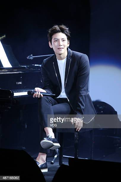 Actor Ji Chang Wook attends fan meeting on September 6 2015 in Taipei Taiwan of China