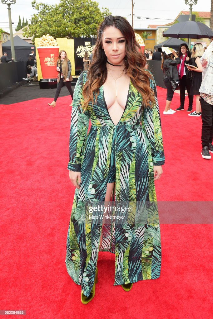 Actor Jillian Rose Reed attends the 2017 MTV Movie And TV Awards at The Shrine Auditorium on May 7, 2017 in Los Angeles, California.
