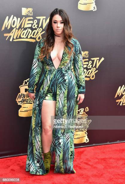 Actor Jillian Rose Reed attends the 2017 MTV Movie And TV Awards at The Shrine Auditorium on May 7 2017 in Los Angeles California
