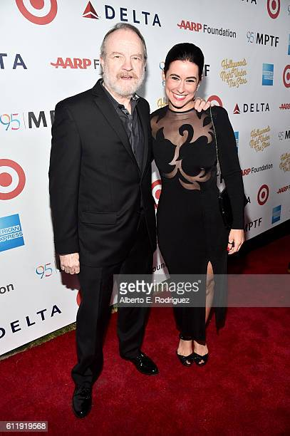 Actor Jim Beaver and singer Sarah Spiegel attends the MPTF 95th anniversary celebration with 'Hollywood's Night Under The Stars' at MPTF Wasserman...