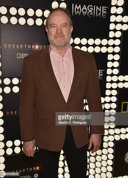 Actor Jim Beaver attends National Geographic Channel's 'Breakthrough' world premiere event at The Pacific Design Center on October 26 2015 in West...
