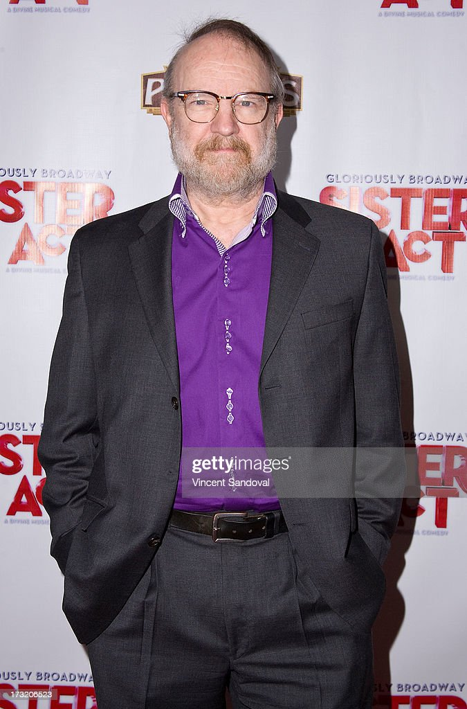 Actor Jim Beaver attends the Los Angeles opening night of 'Sister Act' at the Pantages Theatre on July 9, 2013 in Hollywood, California.