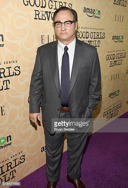 Actor Jim Belushi attends the Amazon red carpet premiere screening of the original drama series Good Girls Revolt at Hearst Tower on October 18 2016...