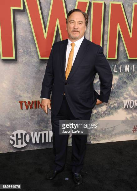 Actor Jim Belushi attends the premiere of 'Twin Peaks' at Ace Hotel on May 19 2017 in Los Angeles California