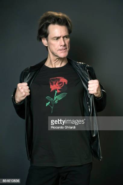 Actor Jim Carrey is photographed for Self Assignment on September 5 2017 in Venice Italy