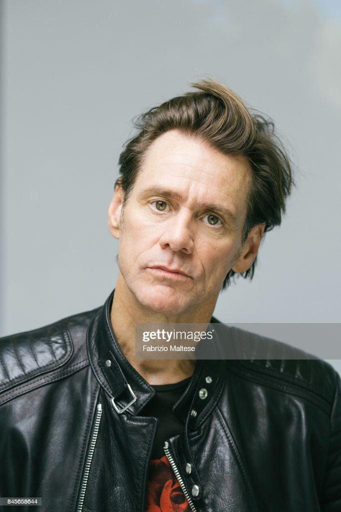 Actor Jim Carrey is photographed on September 5, 2017 in Venice, Italy.