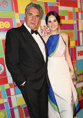 Actor Jim Carter and actress Michelle Dockery attend HBO's Official 2014 Emmy After Party at The Plaza at the Pacific Design Center on August 25 2014...